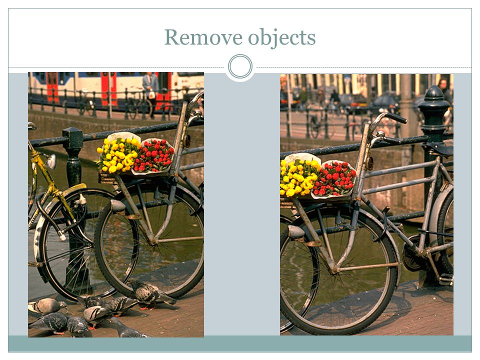Remove objects