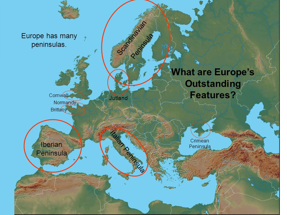 What are Europe's Outstanding Features