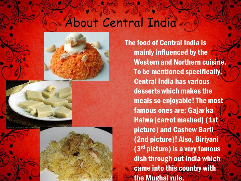 About Central India
