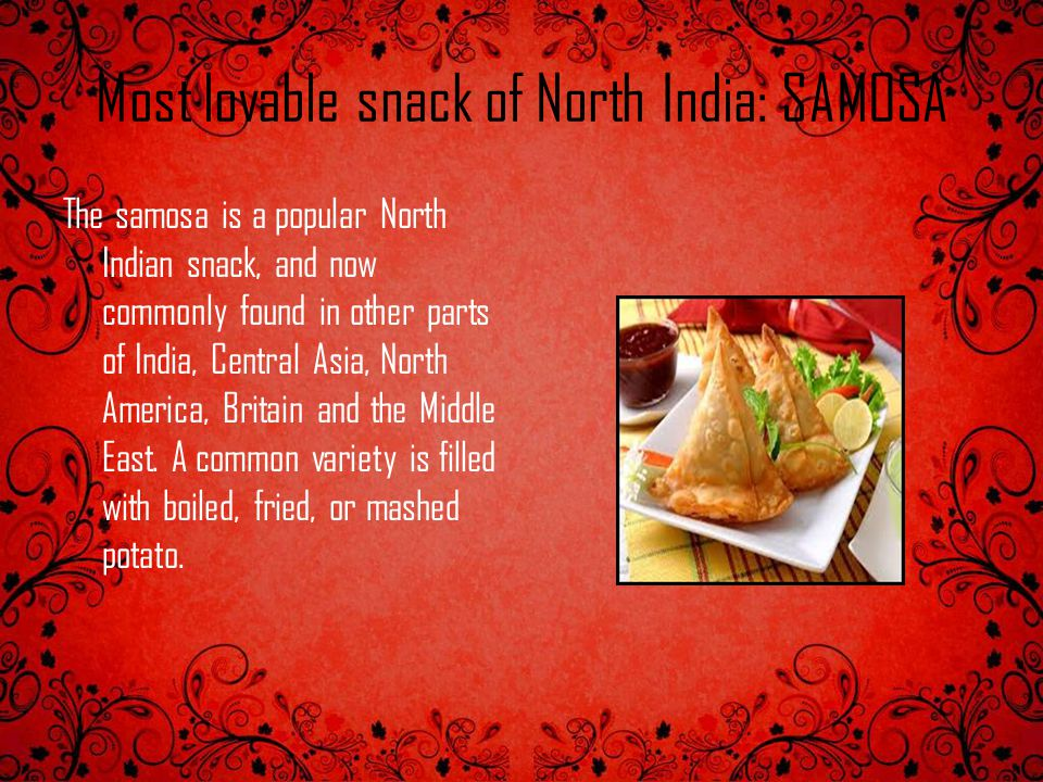 Most lovable snack of North India: SAMOSA