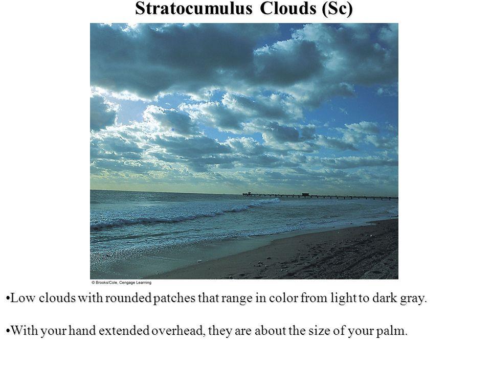 Stratocumulus Clouds (Sc)