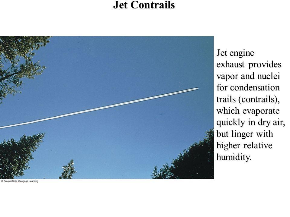 Jet Contrails