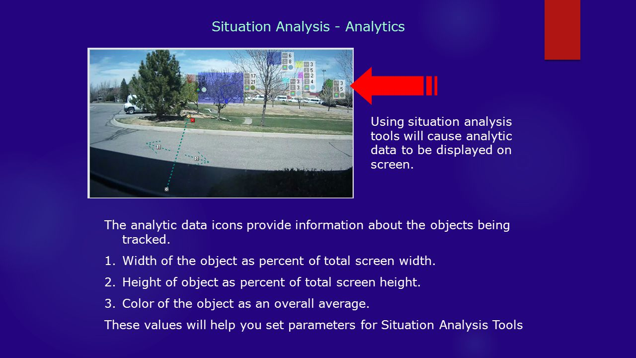 Situation Analysis - Analytics