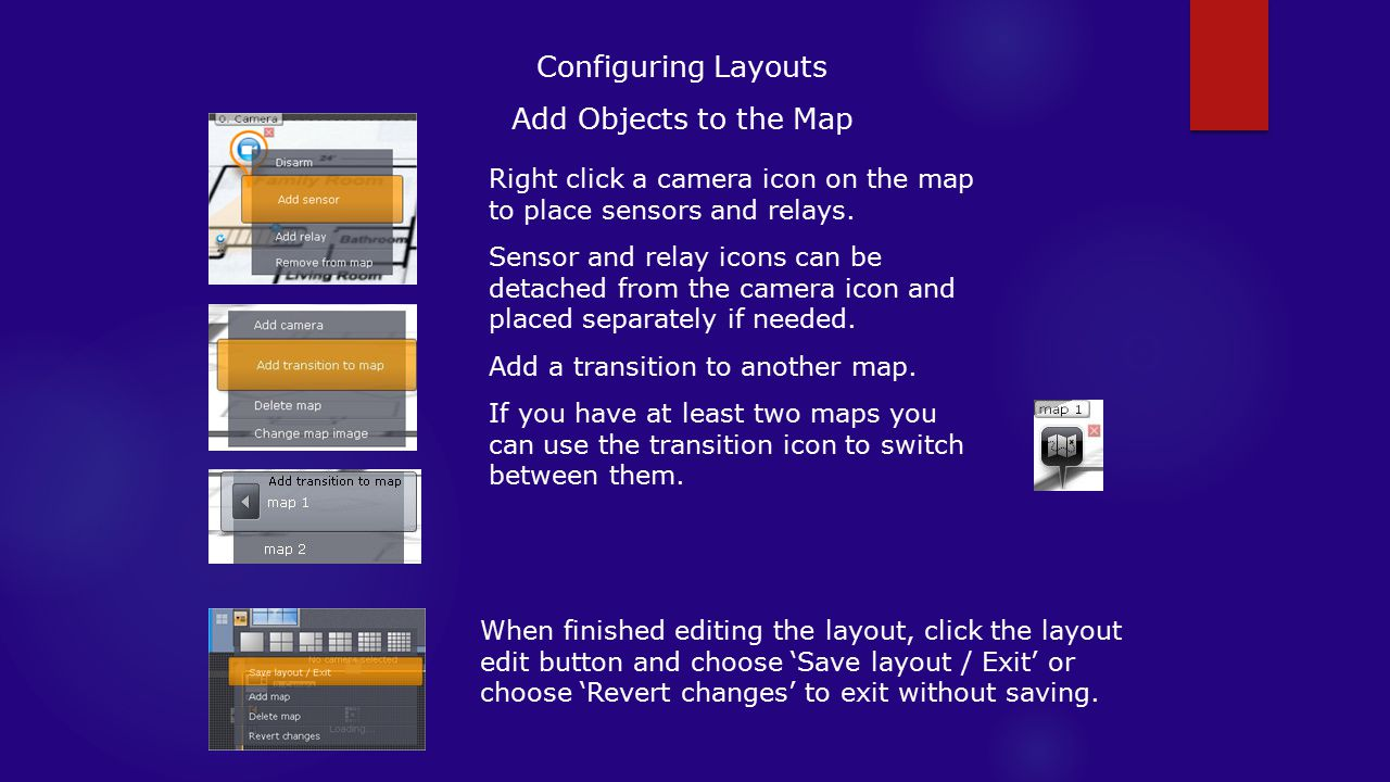 Configuring Layouts Add Objects to the Map