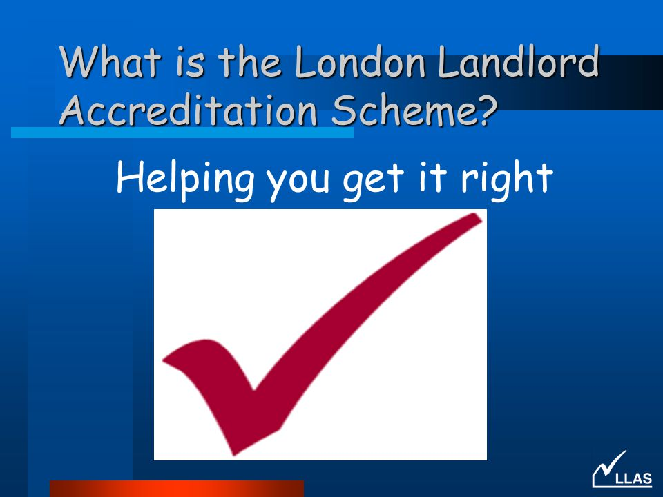 What is the London Landlord Accreditation Scheme