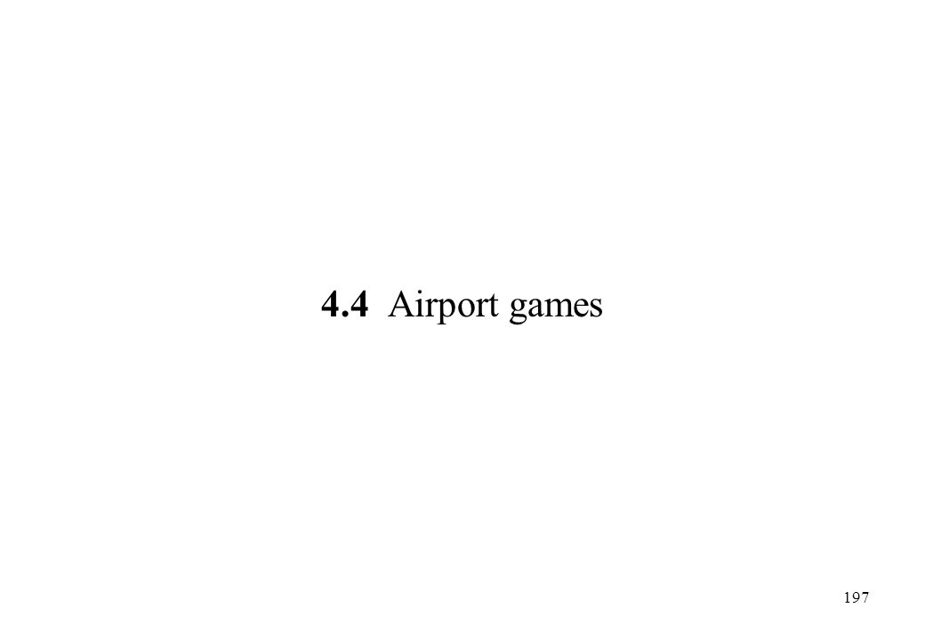 4.4 Airport games