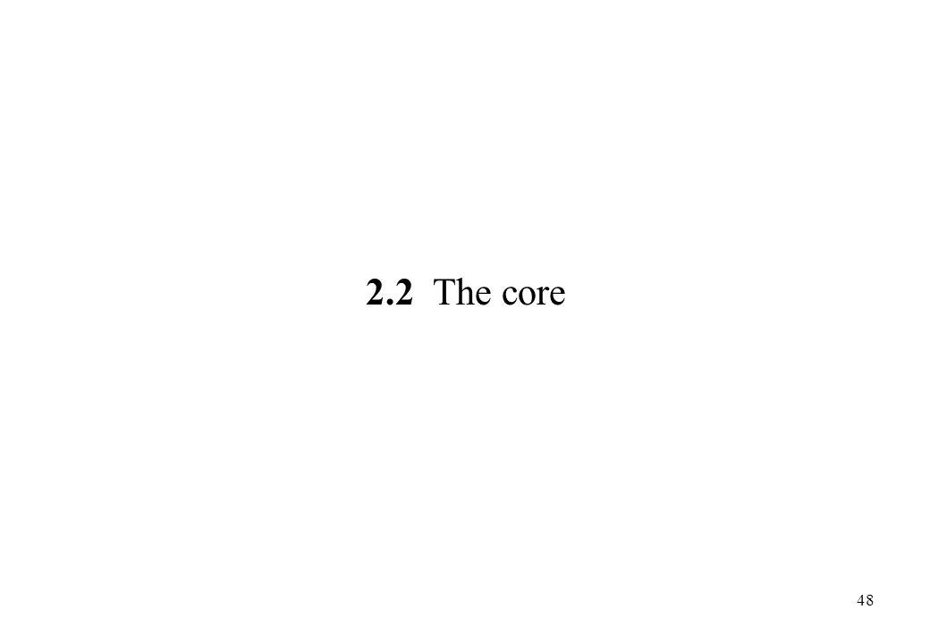 2.2 The core