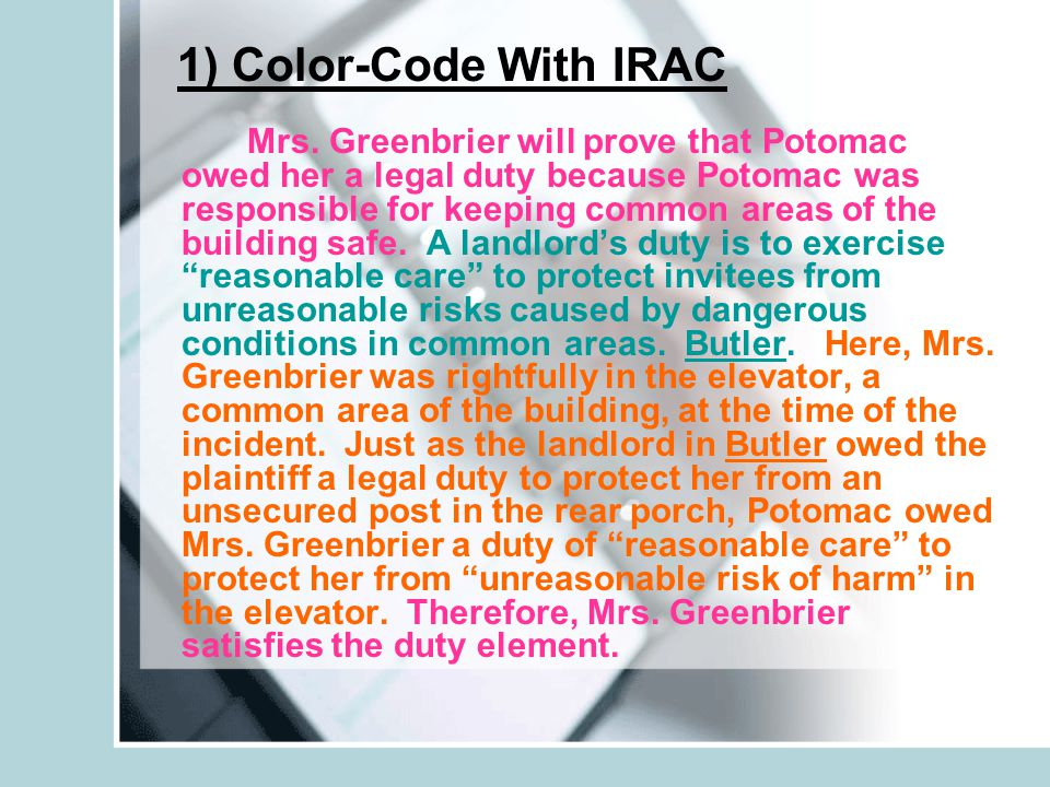 1) Color-Code With IRAC