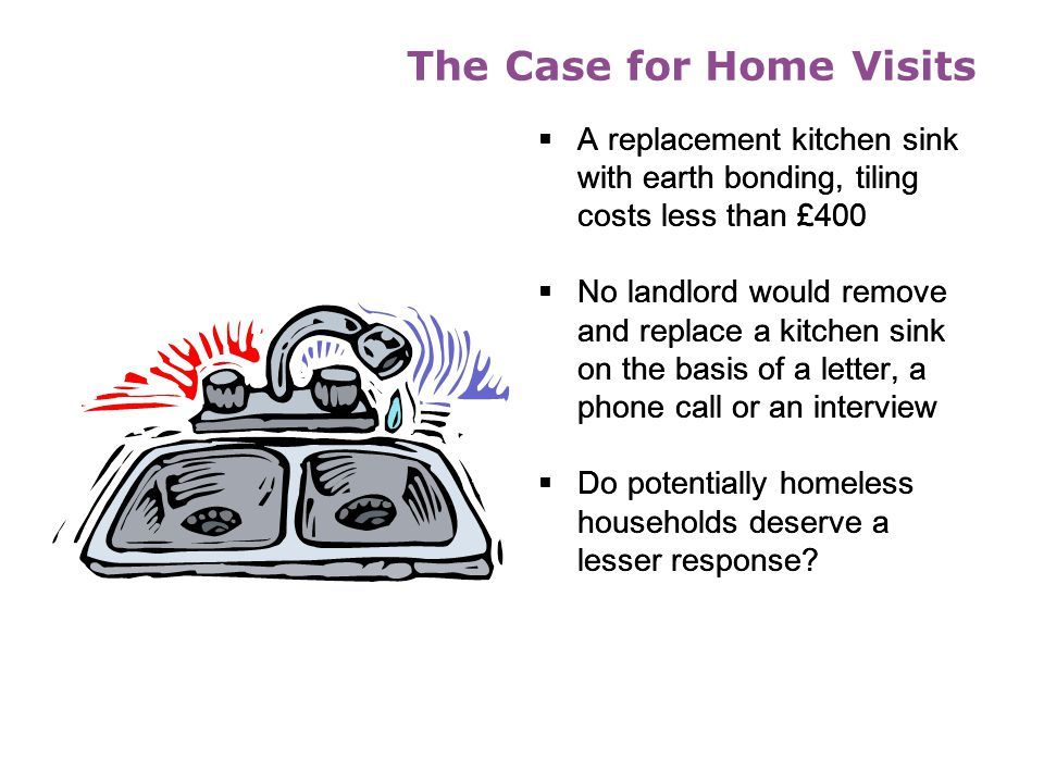 The Case for Home Visits