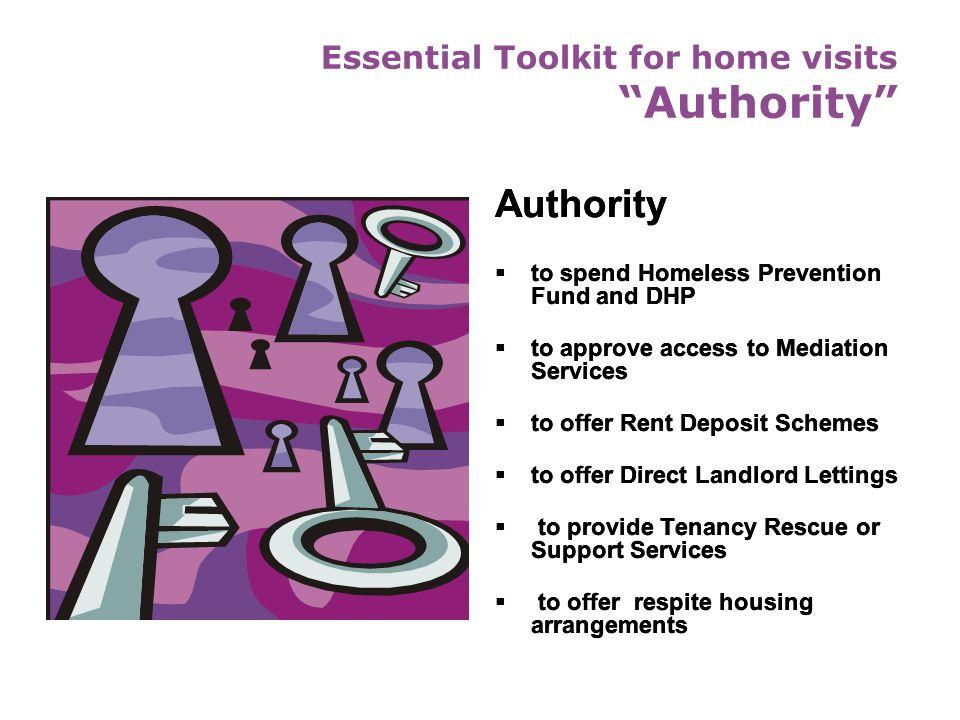 Essential Toolkit for home visits Authority