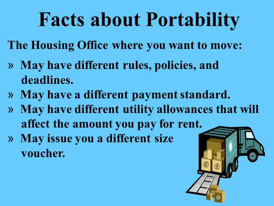 Facts about Portability