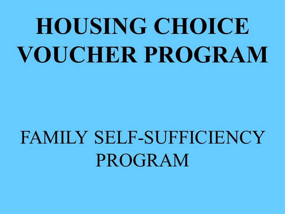 FAMILY SELF-SUFFICIENCY PROGRAM