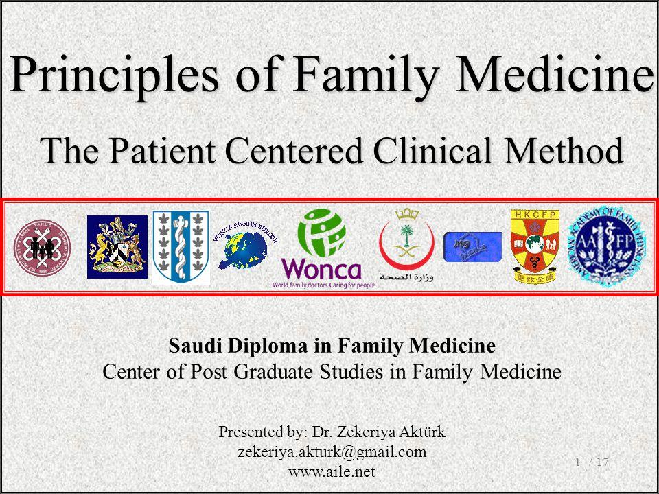 Saudi Diploma in Family Medicine