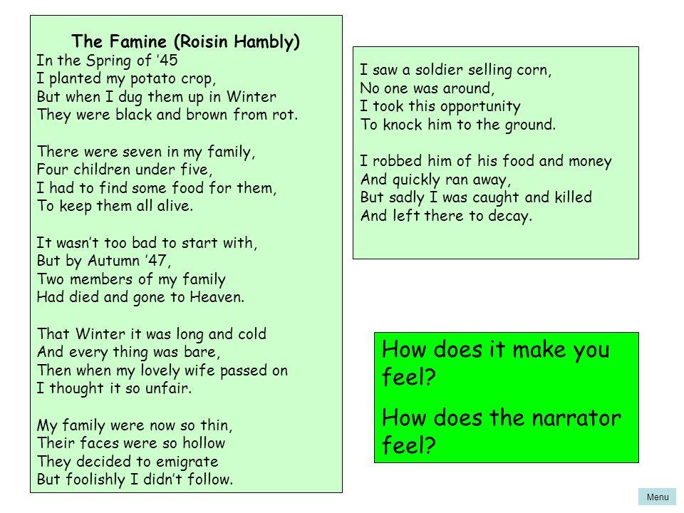 The Famine (Roisin Hambly)