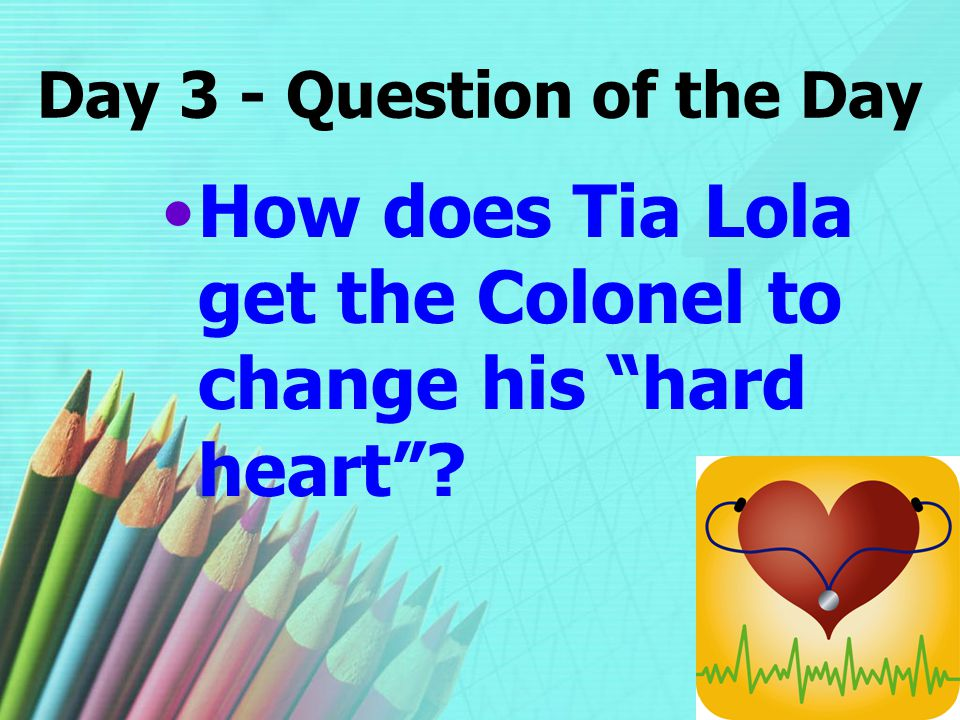 Day 3 - Question of the Day