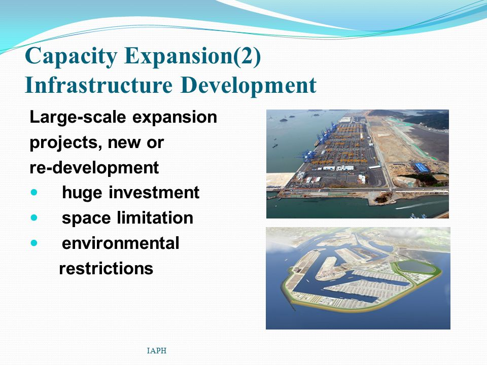 Capacity Expansion(2) Infrastructure Development