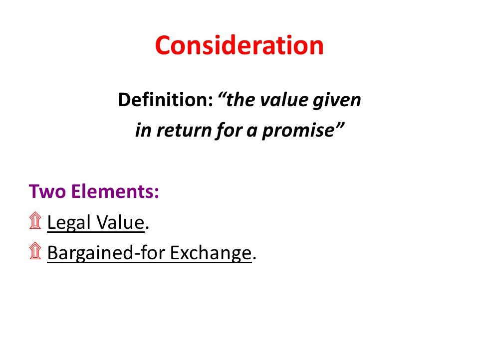 Definition: the value given in return for a promise