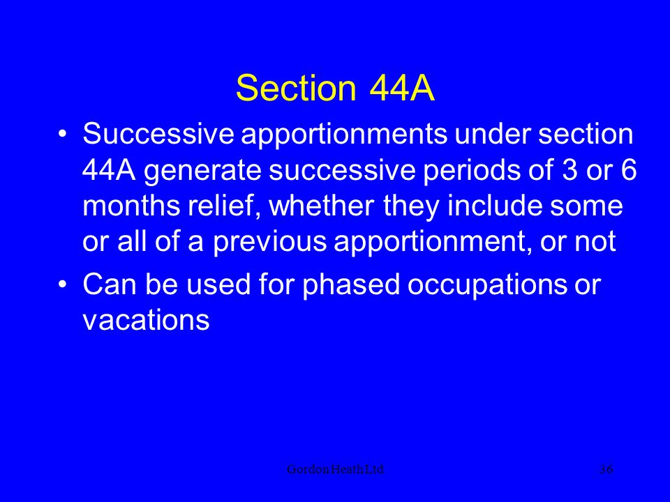Section 44A