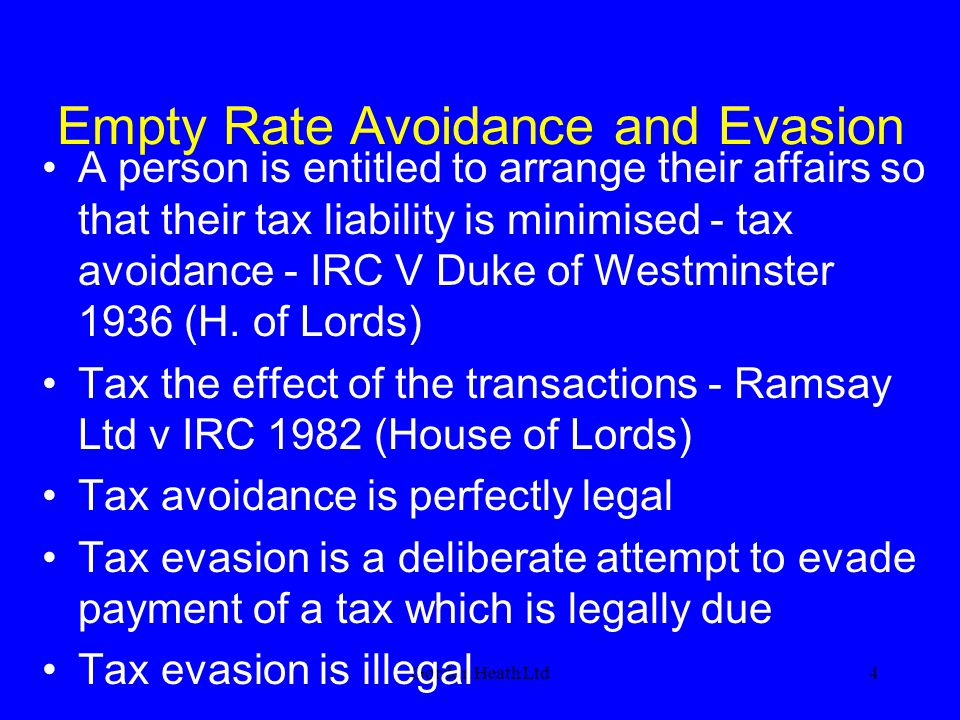Empty Rate Avoidance and Evasion
