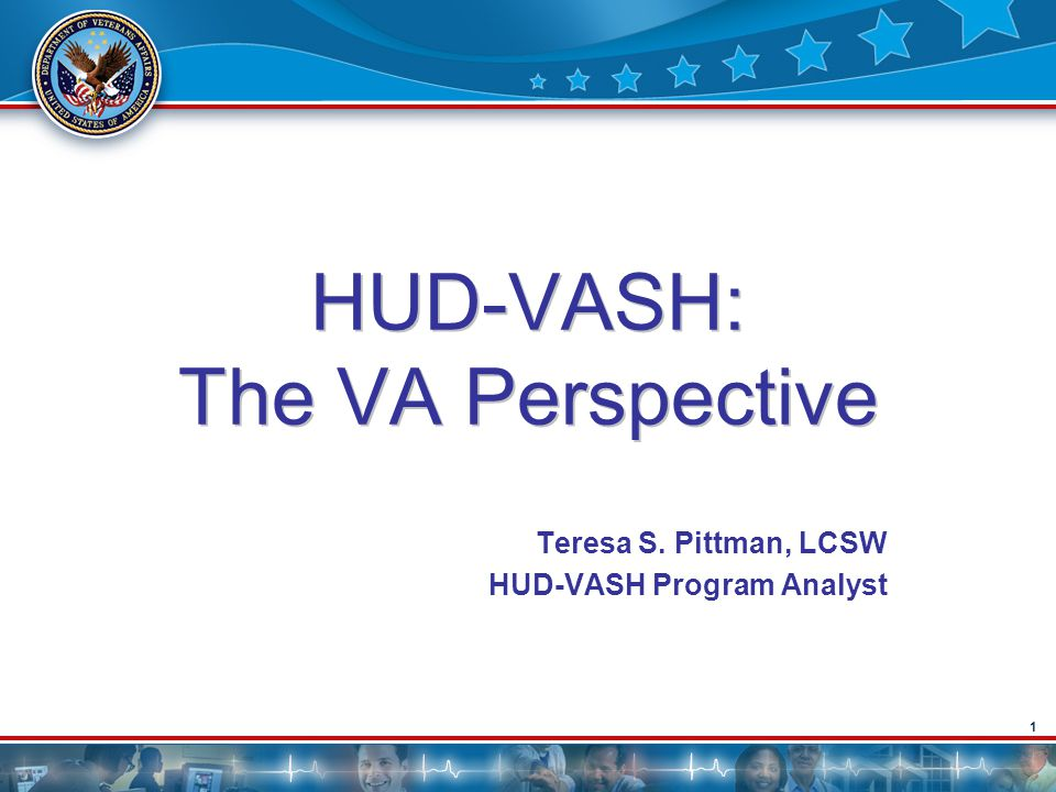 HUD-VASH: The VA Perspective