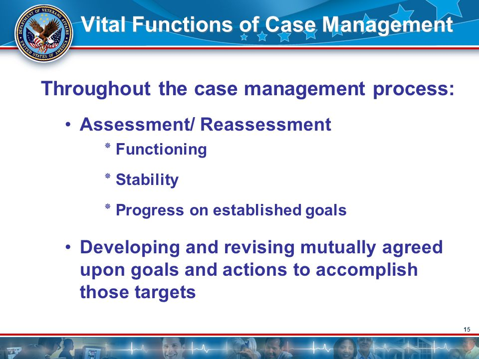 Vital Functions of Case Management