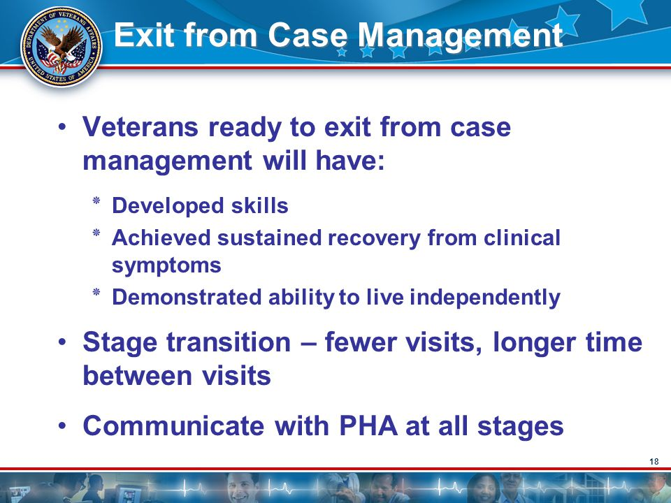 Exit from Case Management