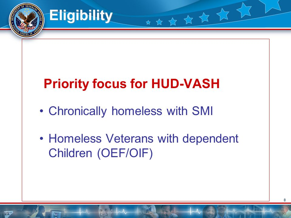 Priority focus for HUD-VASH