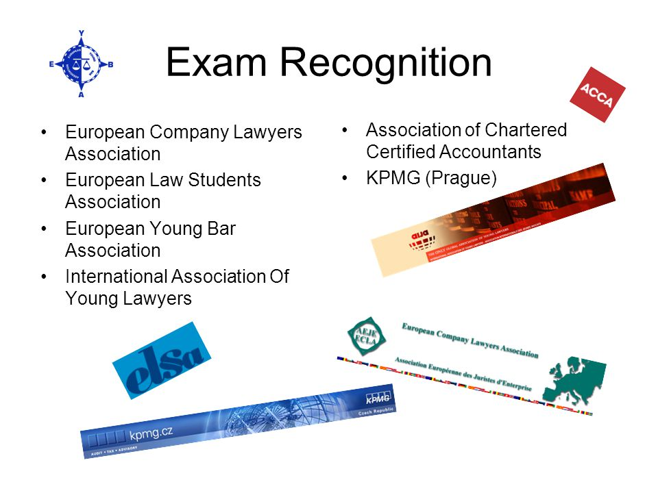 Exam Recognition European Company Lawyers Association