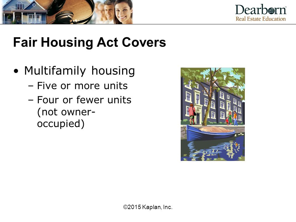 Fair Housing Act Covers