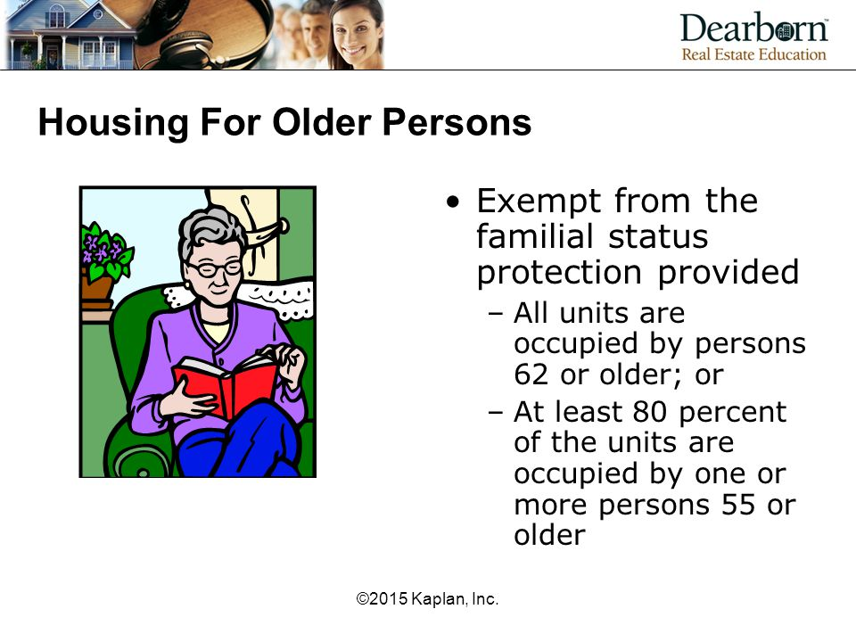 Housing For Older Persons
