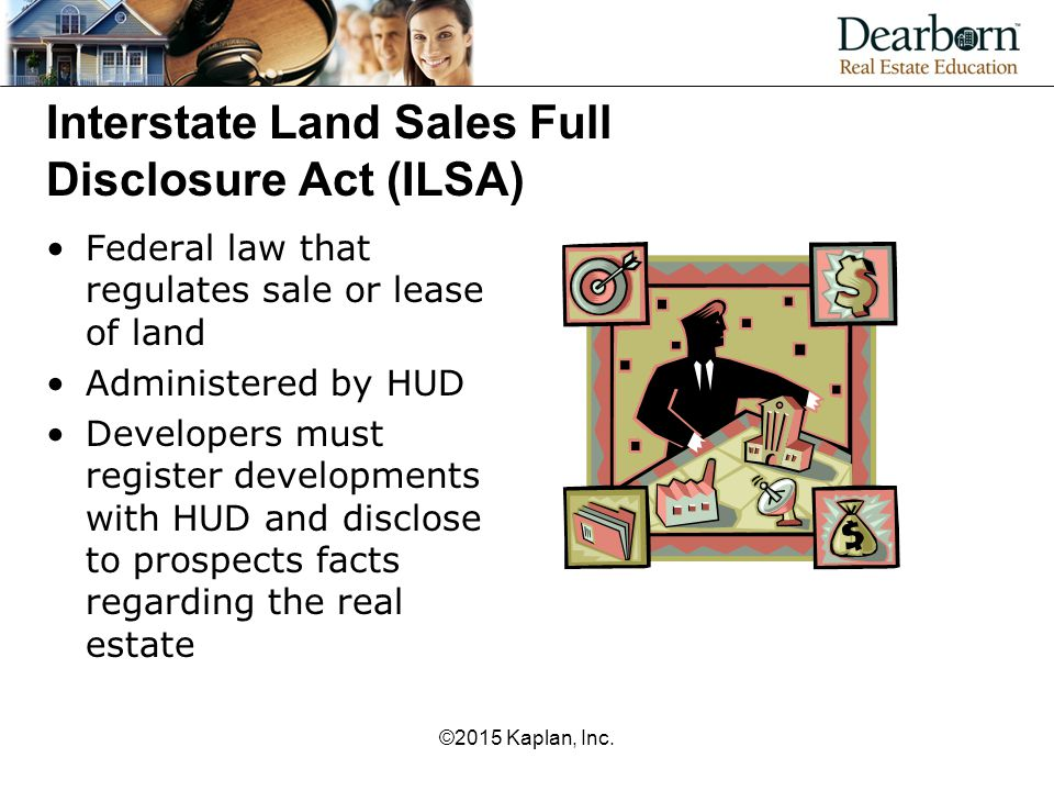 Interstate Land Sales Full Disclosure Act (ILSA)