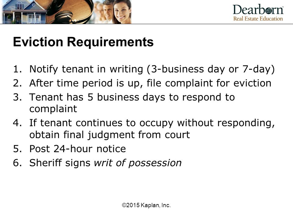 Eviction Requirements