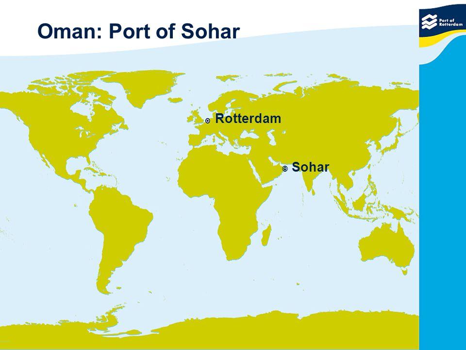 Oman: Port of Sohar Rotterdam  Sohar