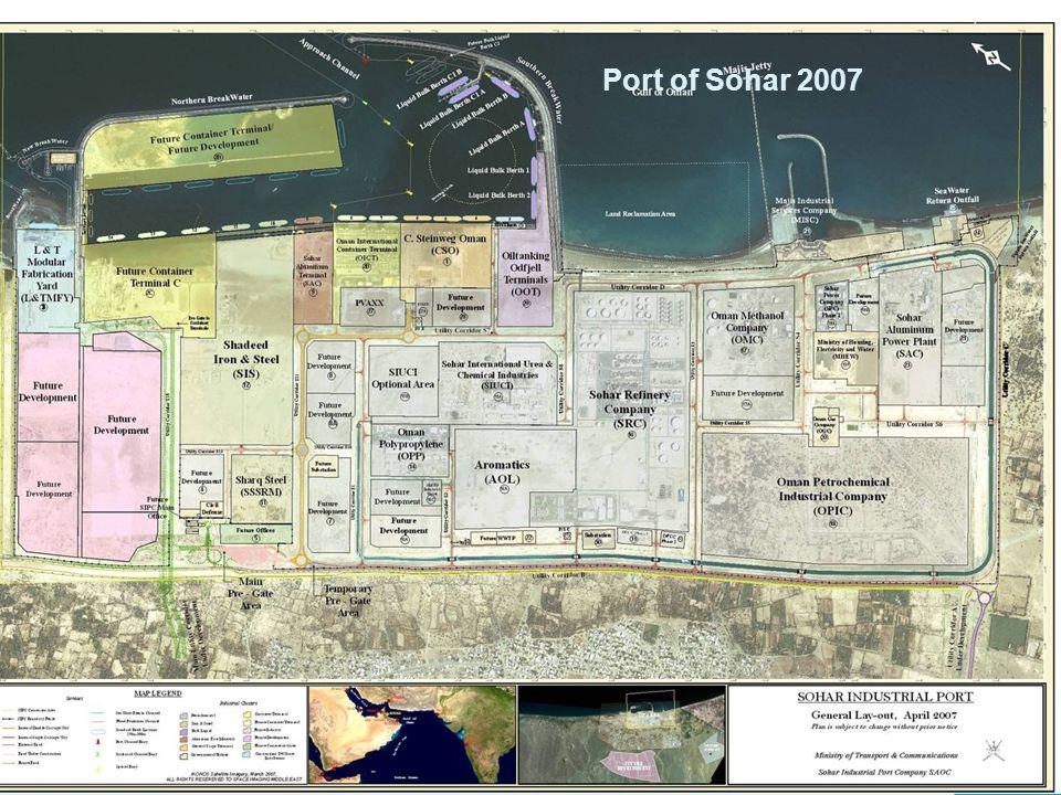Port of Sohar 2007