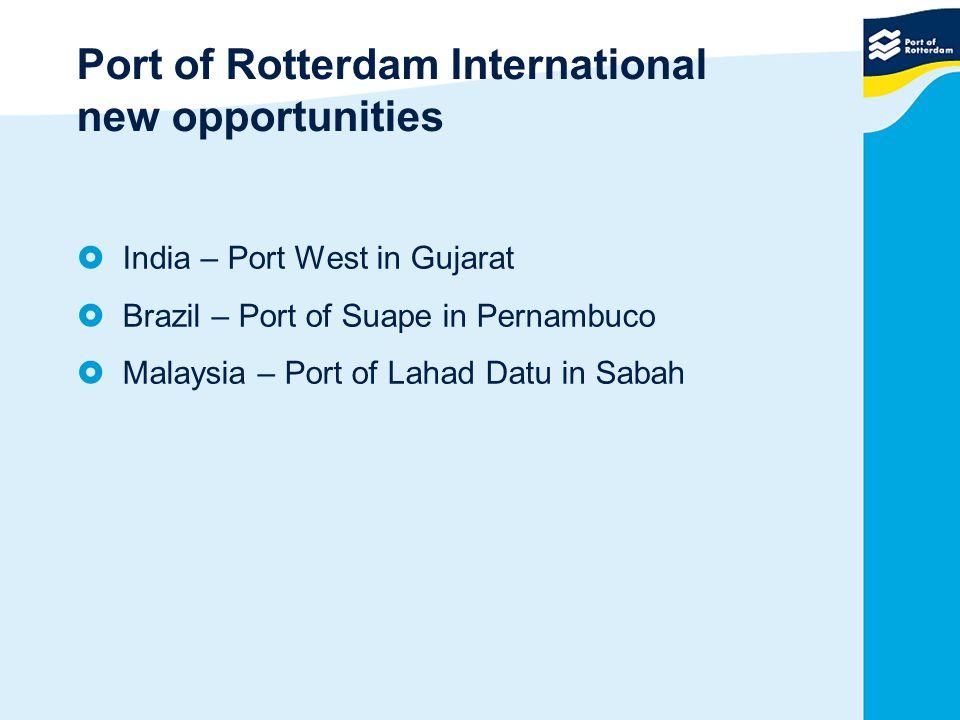 Port of Rotterdam International new opportunities