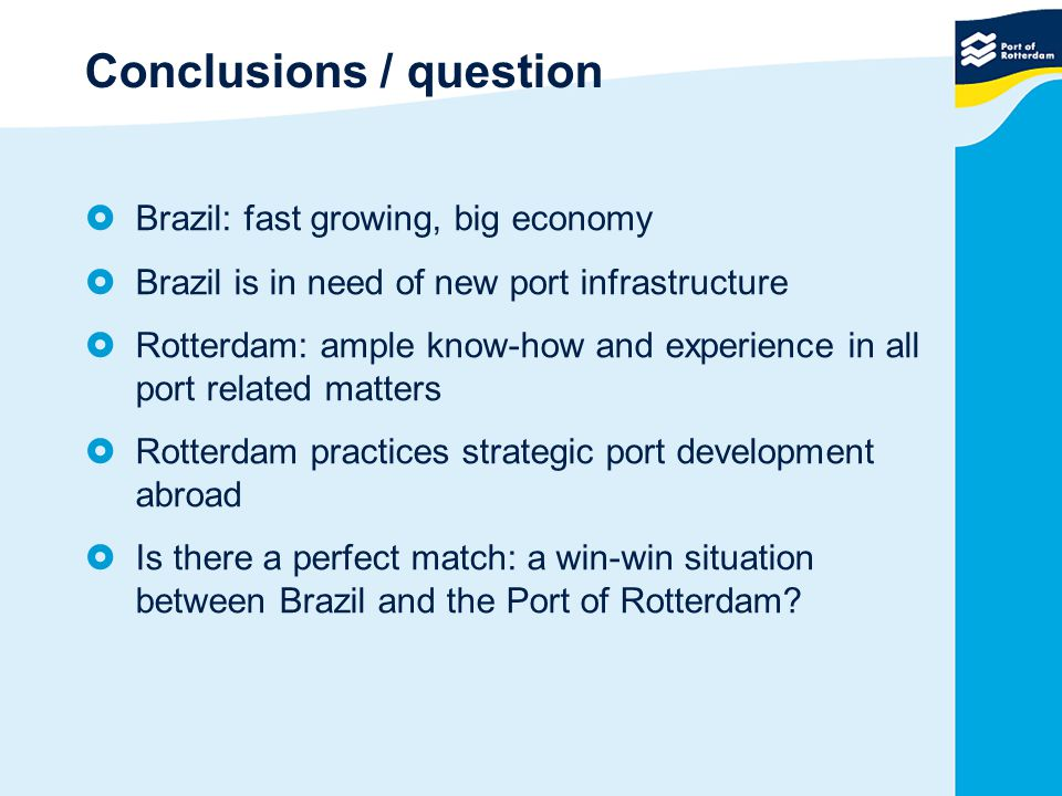 Conclusions / question