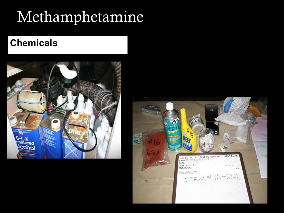 Methamphetamine Chemicals
