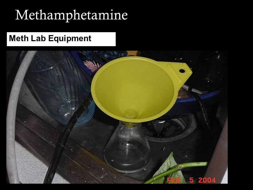 Methamphetamine Meth Lab Equipment