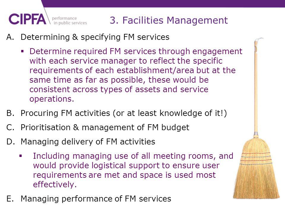3. Facilities Management