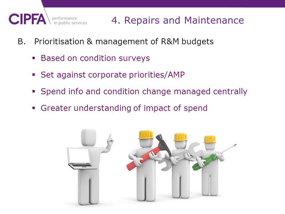 4. Repairs and Maintenance