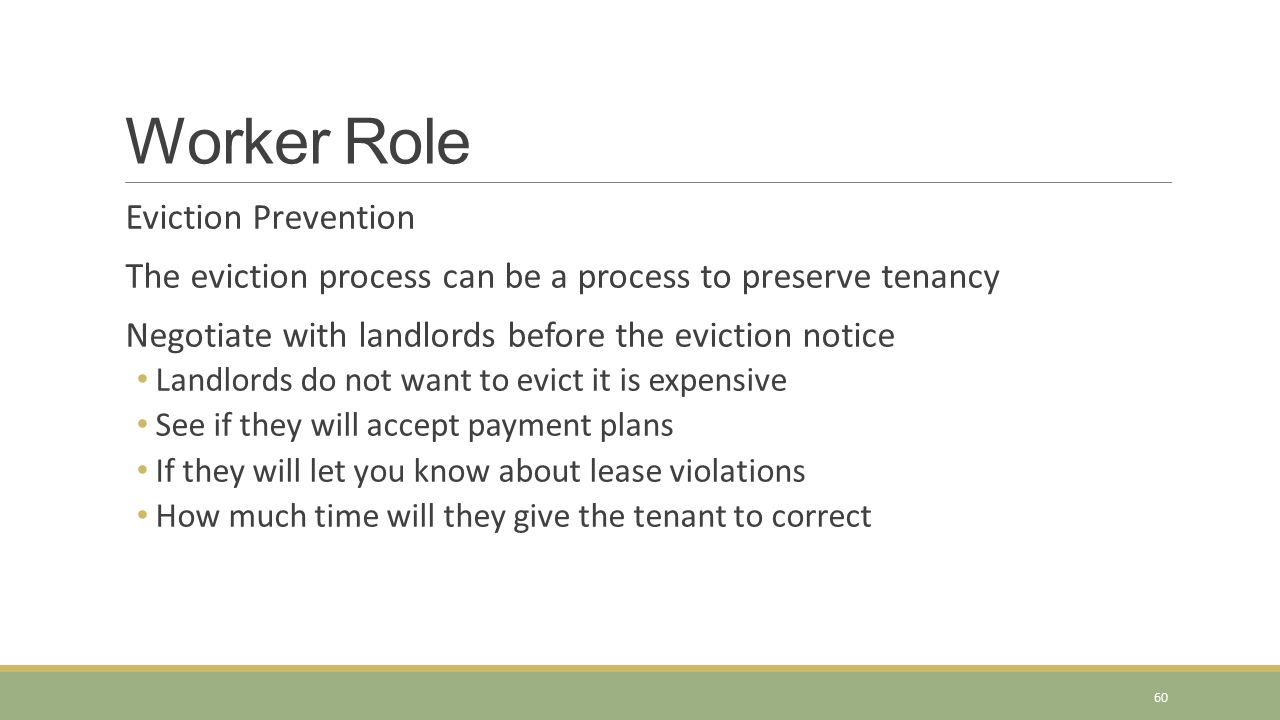 Worker Role Eviction Prevention