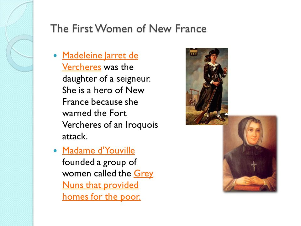 The First Women of New France