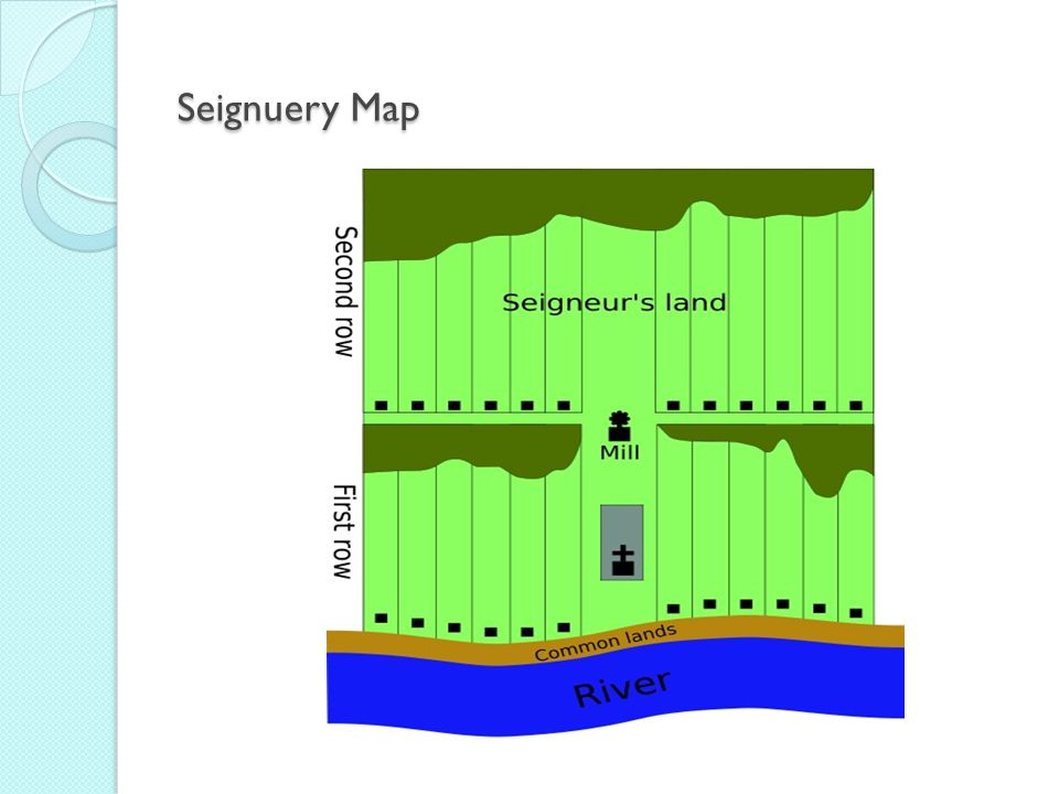 Seignuery Map