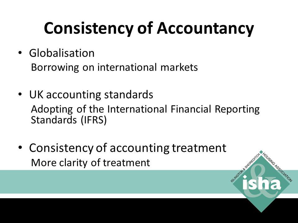 Consistency of Accountancy