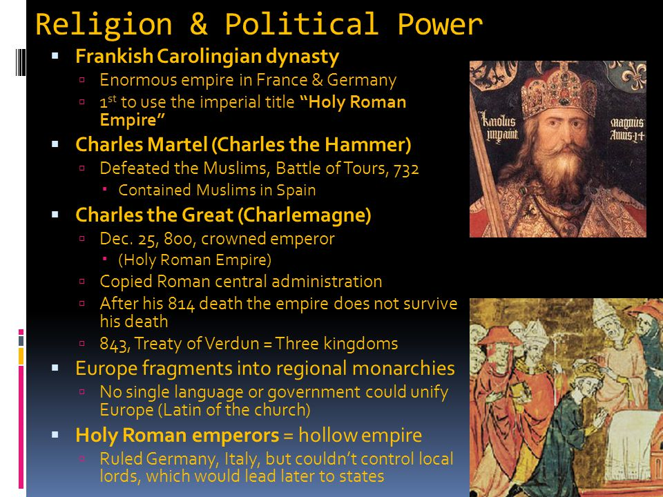 Religion & Political Power