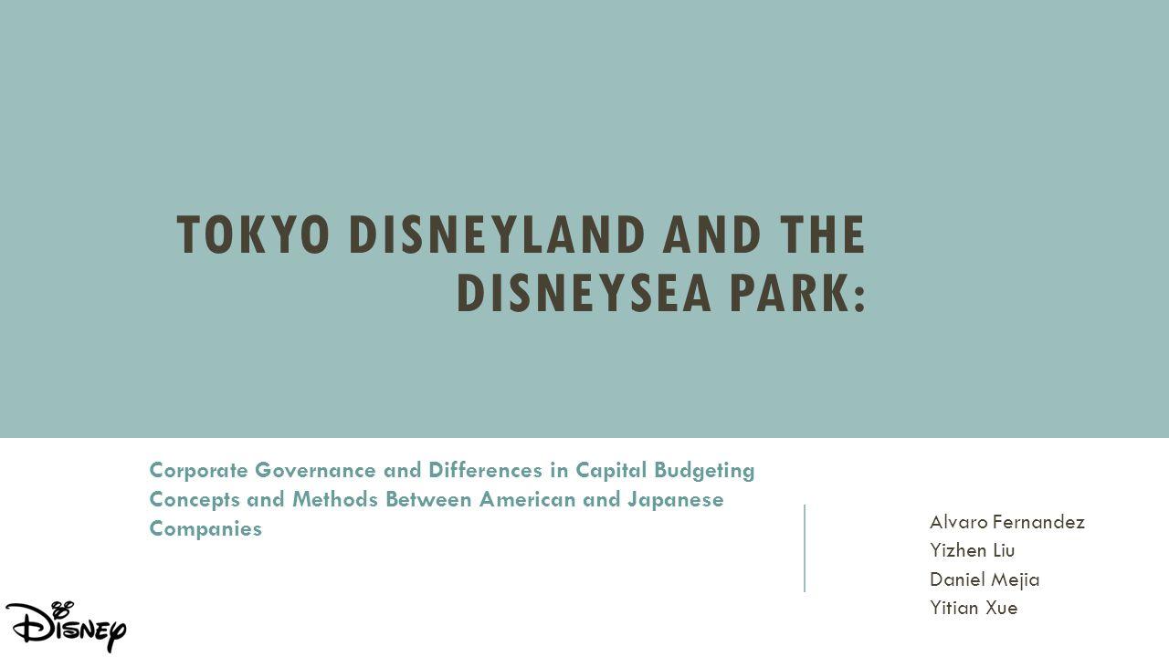 Tokyo Disneyland and the DisneySea Park: