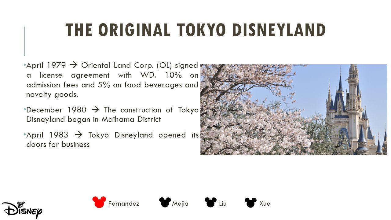 The Original Tokyo Disneyland