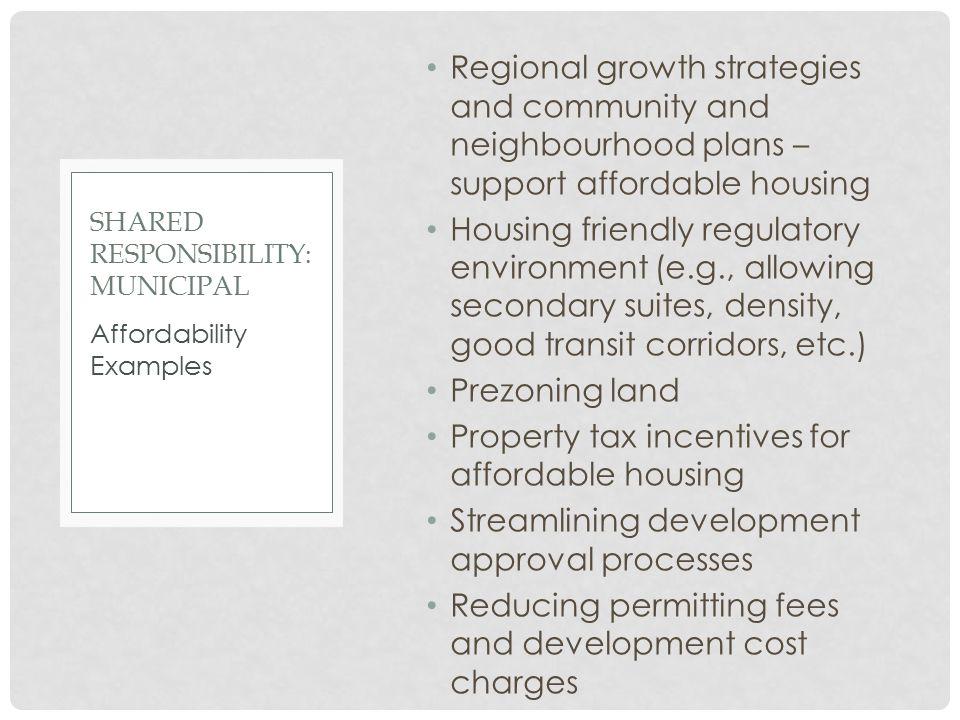 Shared Responsibility: Municipal