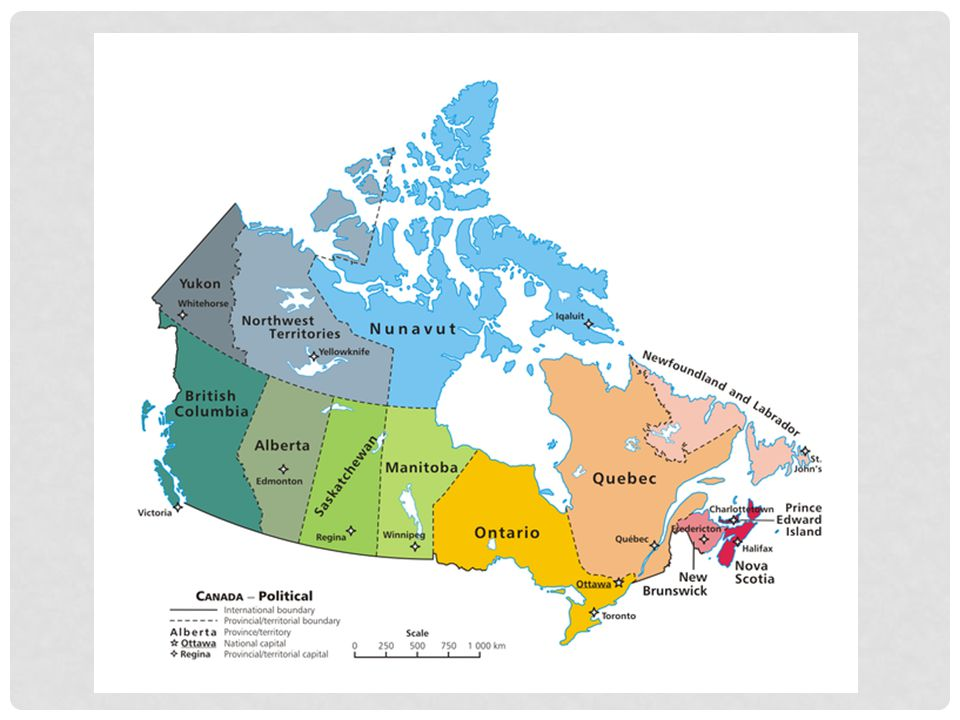 Starting with an overview of Canada