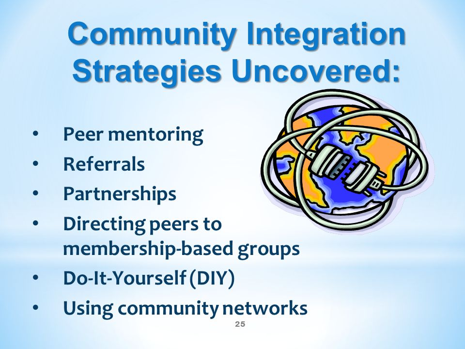 Community Integration Strategies Uncovered: